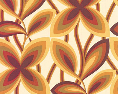 Little Greene Starflower Marigold 0282STMARIG Wallpaper