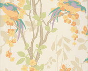 Little Greene Loriini Nouveau 0293LONOUVE Wallpaper