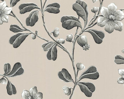 Little Greene Broadwick St Mono 0280BRMONOZ Wallpaper