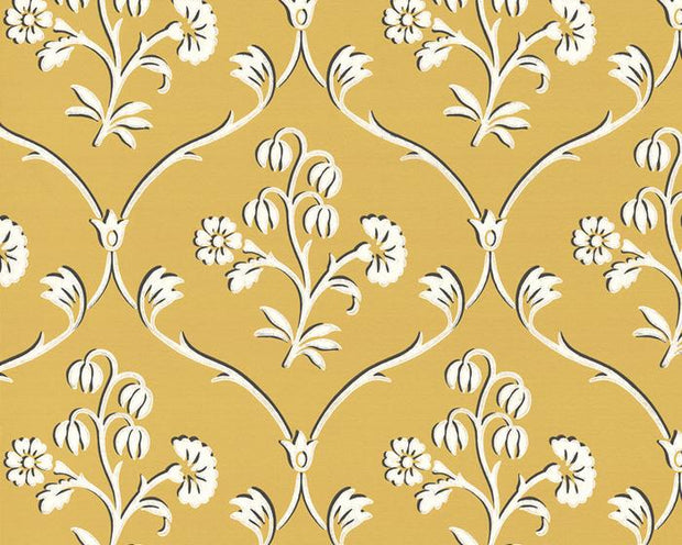 Little Greene Cranford Wheat 0280CFWHEAT Wallpaper