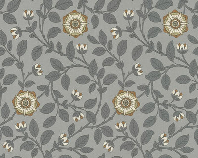 Little Greene Richmond Green Platinum 0251RGDORCA Wallpaper