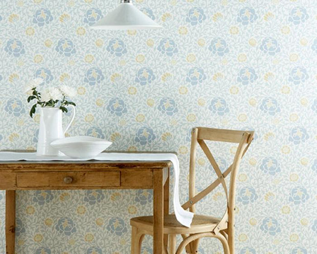 Little Greene Lansdowne Walk Marigold 0273LWMARIG Wallpaper