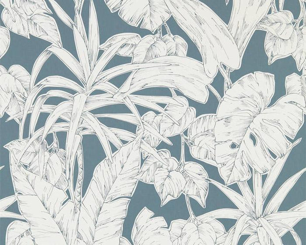 Scion Parlour Palm Charcoal 112023 Wallpaper