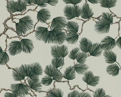 Sandberg Pine Green 804-78 Wallpaper