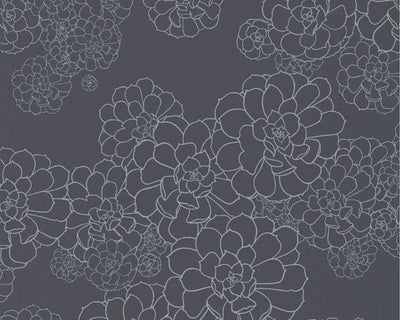 Paint & Paper Library Aeonium Blue Blood PPAEBB Wallpaper