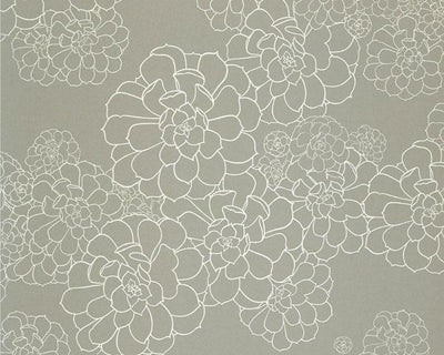 Paint & Paper Library Aeonium Steel PPAEST Wallpaper