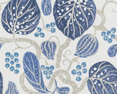 William Yeoward Astasia Indigo PWY9002/01 Wallpaper