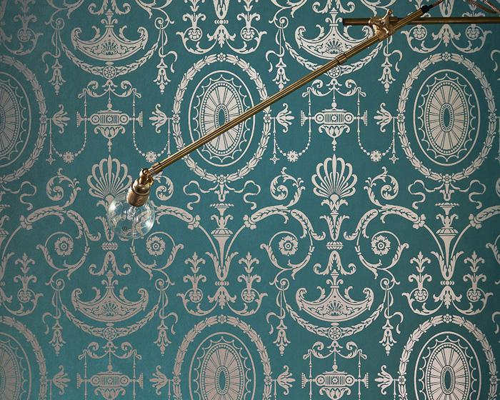 Little Greene Pall Mall Clement 0251PMCLEME Wallpaper