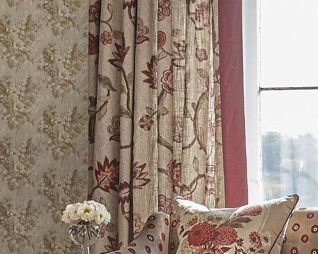 William Yeoward Perosita Cappuccino PWY9005/04 Wallpaper