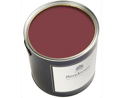 Sanderson Water Based Eggshell Amanpuri Red Paint