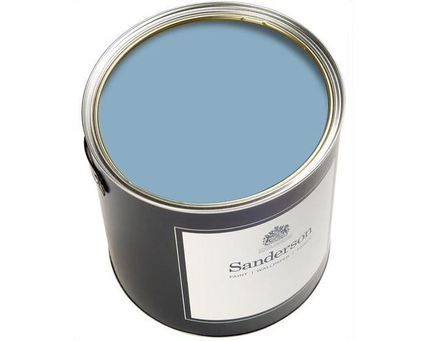 Sanderson Water Based Eggshell Balmory Blue Paint