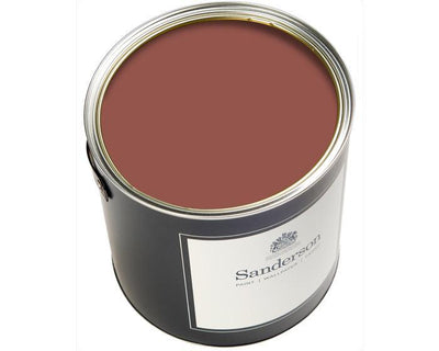 Sanderson Water Based Eggshell Bengal Red Paint