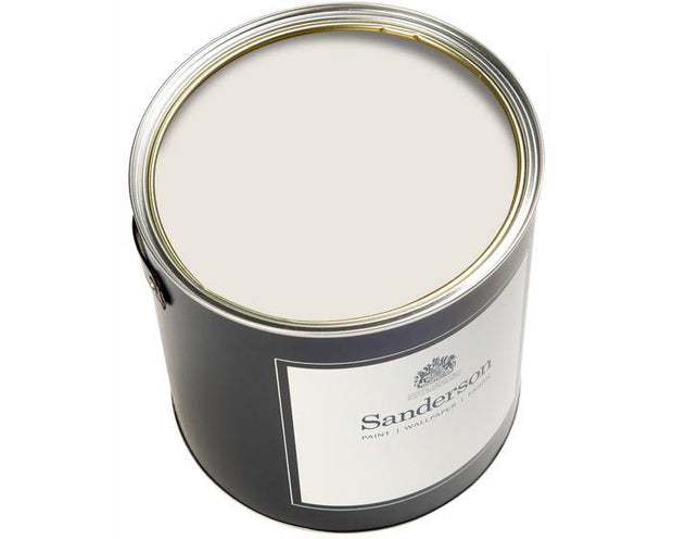 Sanderson Water Based Eggshell Birch White Lt Paint