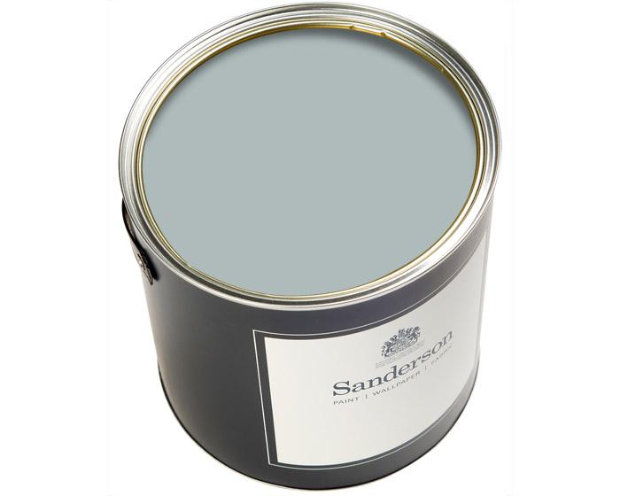 Sanderson Oil Based Eggshell Blue Clay Paint