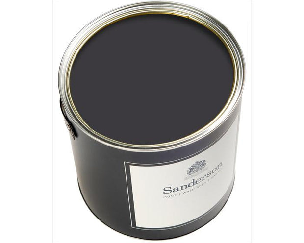 Sanderson Oil Based Eggshell Burn Black Lt Paint