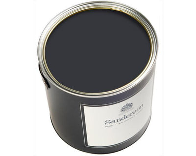 Sanderson Water Based Eggshell Carbon Paint