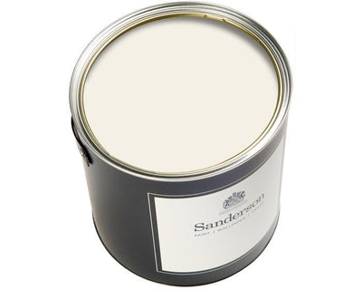 Sanderson Water Based Eggshell Chiswick White Paint
