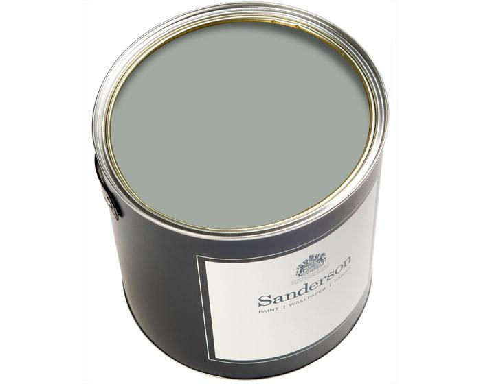 Sanderson Water Based Eggshell English Grey Paint