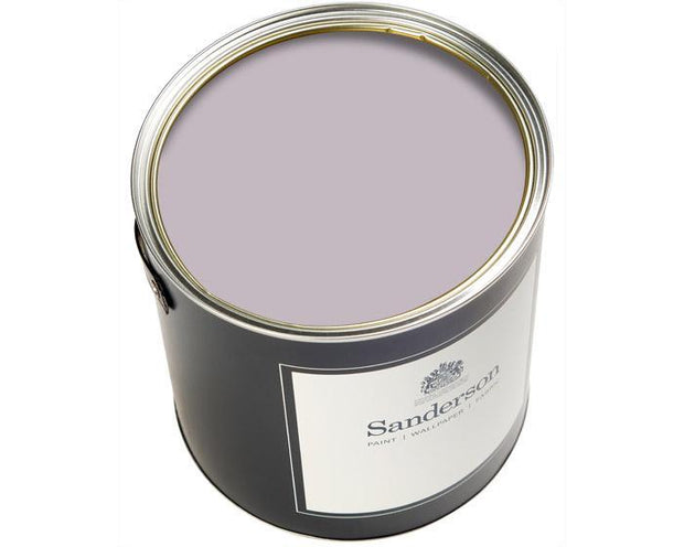 Sanderson Water Based Eggshell English Lilac Paint