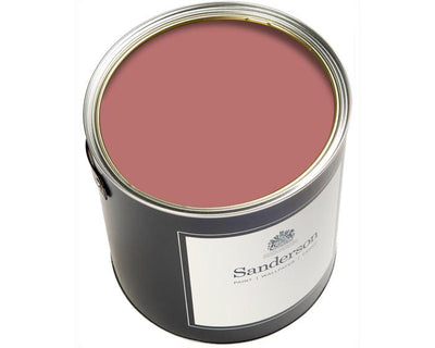 Sanderson Oil Based Eggshell Fire Pink Paint
