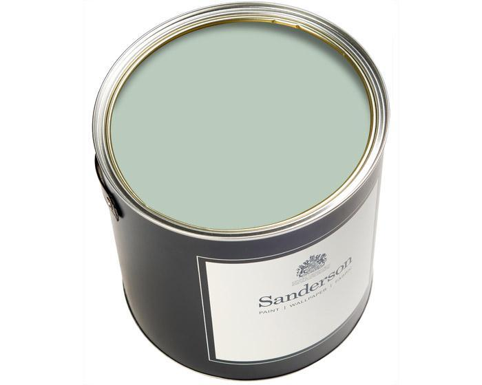 Sanderson Water Based Eggshell Fountain Green Paint