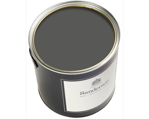 Sanderson Water Based Eggshell Graphite Paint