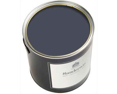 Sanderson Oil Based Eggshell Indigo Blue Paint