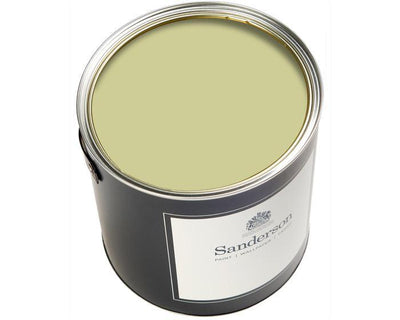 Sanderson Water Based Eggshell Lime Cloud Paint
