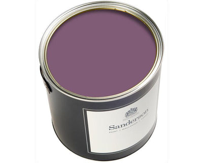 Sanderson Oil Based Eggshell Meadow Violet Paint