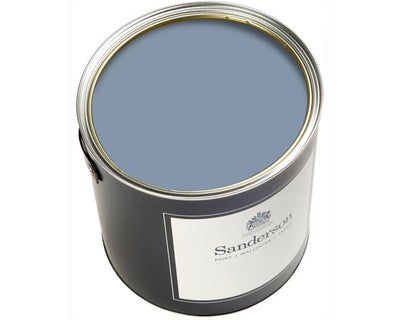 Sanderson Oil Based Eggshell Menai Blue Paint