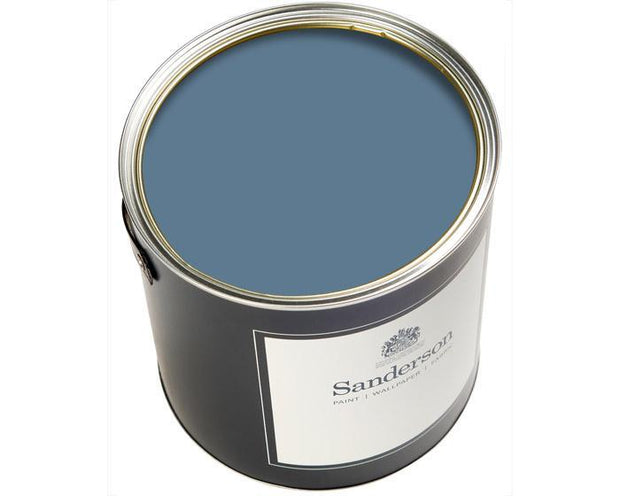 Sanderson Water Based Eggshell Midnight Blue Paint