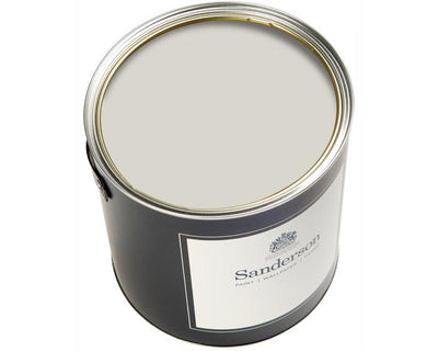 Sanderson Oil Based Eggshell New Silver Paint