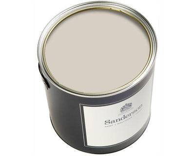 Sanderson Water Based Eggshell Quill Grey Paint