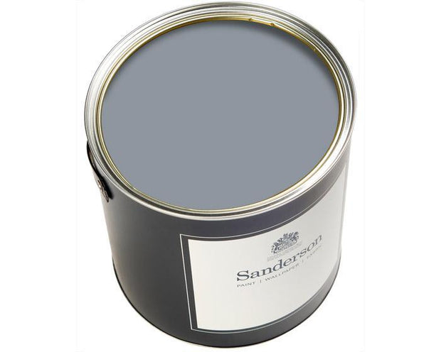 Sanderson Oil Based Eggshell Rain lake Paint