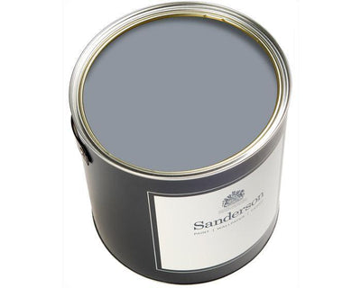 Sanderson Water Based Eggshell Rain lake Paint