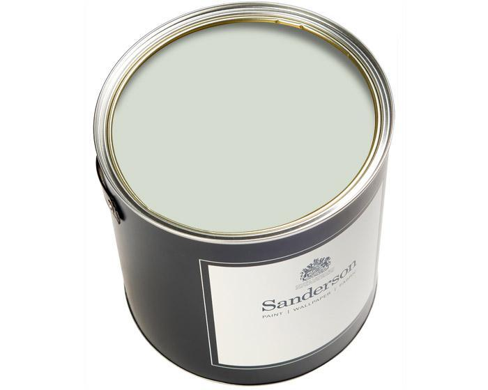 Sanderson Water Based Eggshell Silver Mint Paint