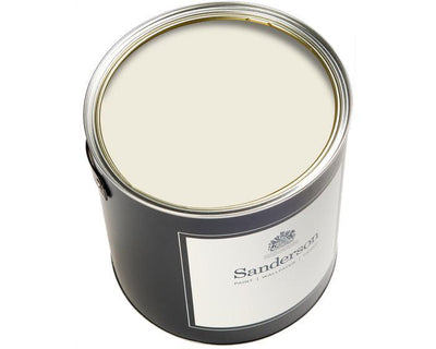 Sanderson Water Based Eggshell Winter White Paint