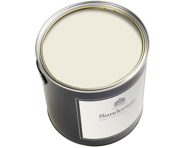 Sanderson Oil Based Eggshell Winter White Paint