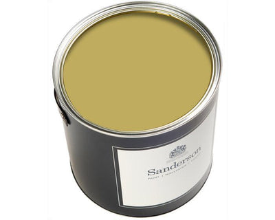 Sanderson Water Based Eggshell Woodland Yellow Paint