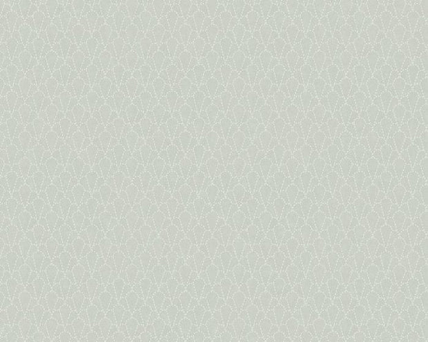 Sandberg Sashiko Light Green 237-18 Wallpaper