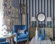 William Yeoward Scillo Indigo PWY9004/01 Wallpaper