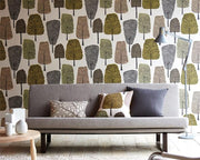 Scion Cedar Slate/Apple/Ivy 111083 Wallpaper