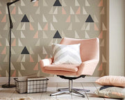 Scion Modul Parchment/Biscuit/Linen 111307 Wallpaper