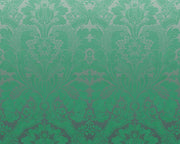 Little Greene St James's Park Teal Fade 0259SJTEALF Wallpaper