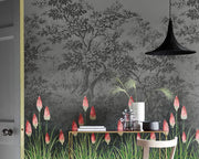 Little Greene Upper Brook Street Minuit 0251UBMINUI Wallpaper