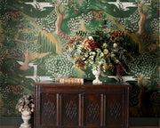 Zoffany Verdure Tapestry Green 310431 Wallpaper
