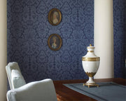 Zoffany Versailles Silk Yellow CDW04011 Wallpaper