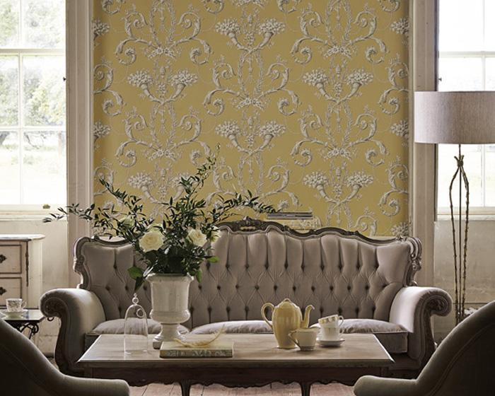 Little Greene Versailles Royale 0248VEROYAL Wallpaper