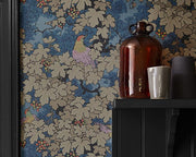 Little Greene Vine Verde 0247VIROUGE Wallpaper