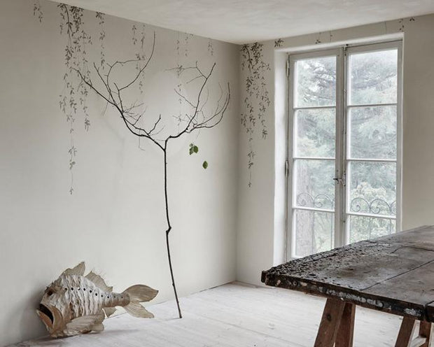 Sandberg Wabi Sabi Light Grey 644-06 Wallpaper